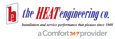 Call The Heat Engineering Co. for reliable  repair in